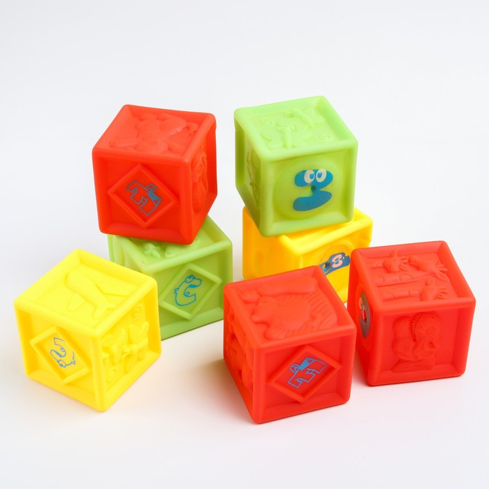 Набор для купания «Кубики»