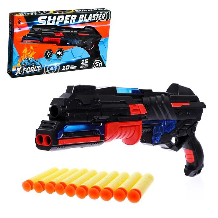 Бластер «Разрушитель», стреляет мягкими пулями, световые и звуковые эффекты