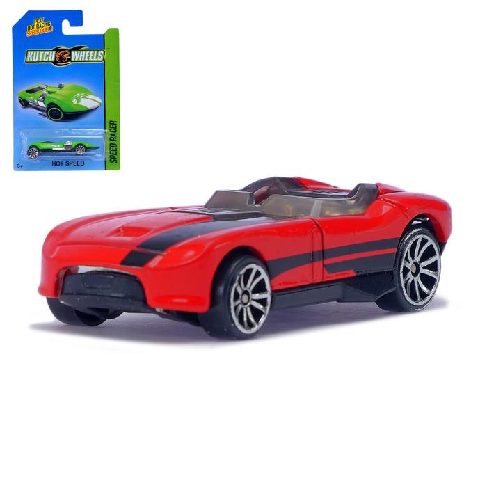 Машина металлическая «Hot Car», МИКС