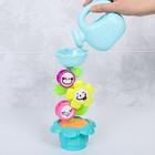 Игрушки для купания «Букашки и цветок», 4 предмета - фото 105534210
