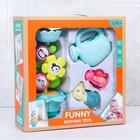 Игрушки для купания «Букашки и цветок», 4 предмета - фото 105534215
