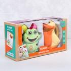 Игрушки для купания «Лягушонок и Пеликан», 2 предмета - фото 105533807