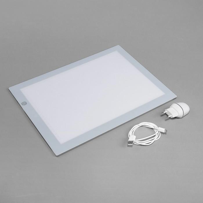 Световой планшет для рисования, А4, цвета МИКС