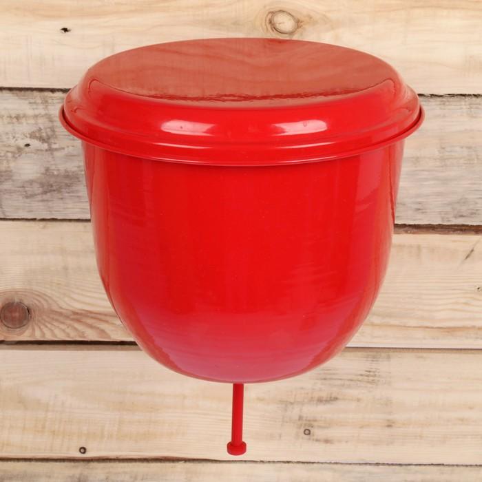 Рукомойники 4,5 л с покрытием цвет красный