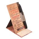 """Ручка на открытке с бумажным блоком """"Удача"""", 20 листов"""