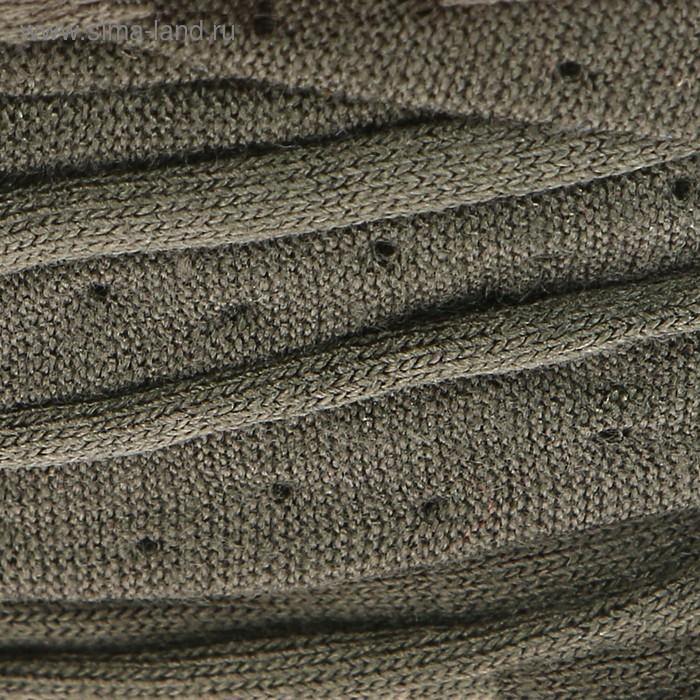Пряжа трикотажная Maccaroni T-Shirt 100% хлопок 120м/650гр ширина 8-12мм (1098 зелён.)