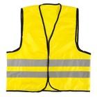 """Жилет """"Автомобилист"""", оксфорд 240 гр/кв.м, желтый, cоответствует ГОСТу"""