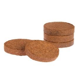 Таблетки из кокосового торфа, d = 10 см, набор 5 шт.