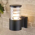 Светильник Elektrostandard садово-парковый, 60 Вт, E27, IP54, настенный, Techno 1408 черный