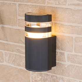 Светильник Elektrostandard садово-парковый, 60 Вт, E27, IP54, настенный, Techno 1444 черный