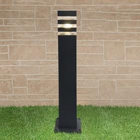 Светильник Elektrostandard, 60 Вт, E27, IP54, на столбе, h=600 мм, Techno 1550 черный