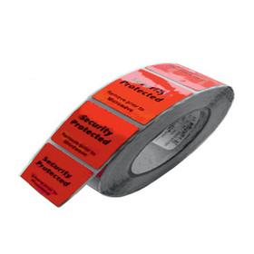 Этикетка радиочастотная 'Штрих-код' 4*4, для замороженных продуктов, рулон 1000 шт Ош