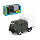 Машинка УАЗ-39094 с будкой «Фермер», масштаб 1:43
