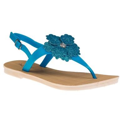"Сандалии женские ""АЛМИ"" арт. TH127-B2, цвет голубой, размер 41"