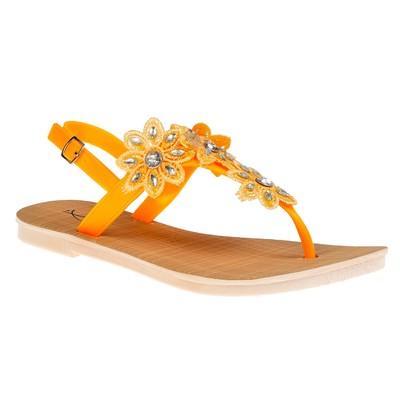 "Сандалии женские ""АЛМИ"" арт. TH127-B4, цвет оранжевый, размер 39"