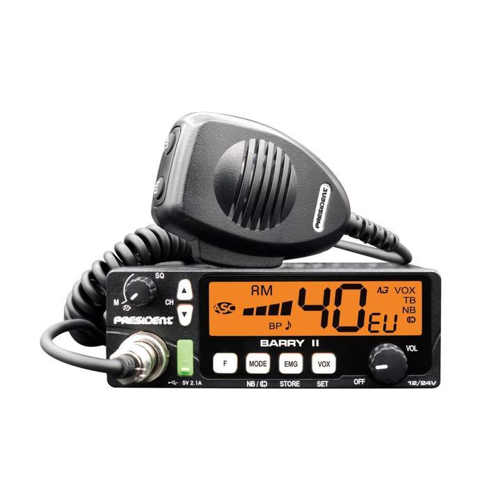 Радиостанция President Barry ASC