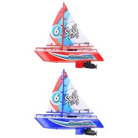 Яхта на радиоуправлении с парусом, 25 см, МИКС Ош