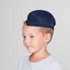 Пилотка без звезды, обхват головы 54-57 см, цвет синий