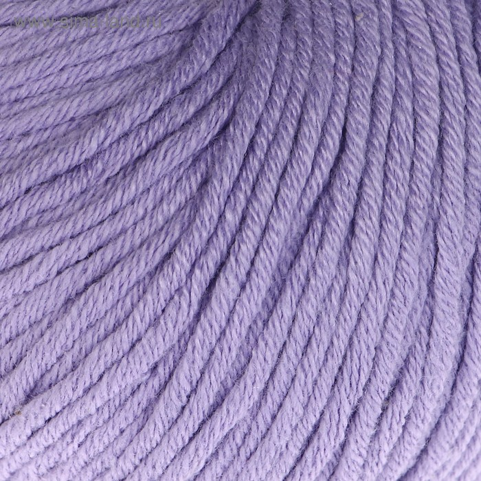"""Пряжа """"Baby Cotton XL"""" 50% хлопок, 50% полиакрил 105м/50гр (3420 сиренев.)"""