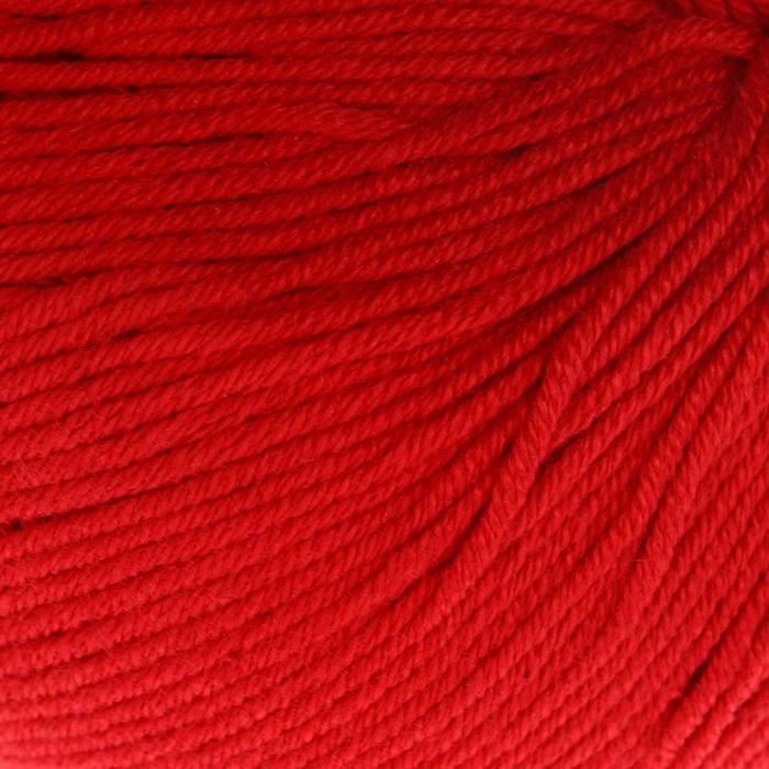 """Пряжа """"Baby Cotton"""" 60% хлопок, 40% полиакрил 165м/50гр (3439 красный)"""