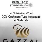 """Пряжа """"Baby Wool XL"""" 20% кашемир, 40% меринос. шерсть, 40% акрил 100м/50гр (832 св. бирюз.) - фото 7278238"""