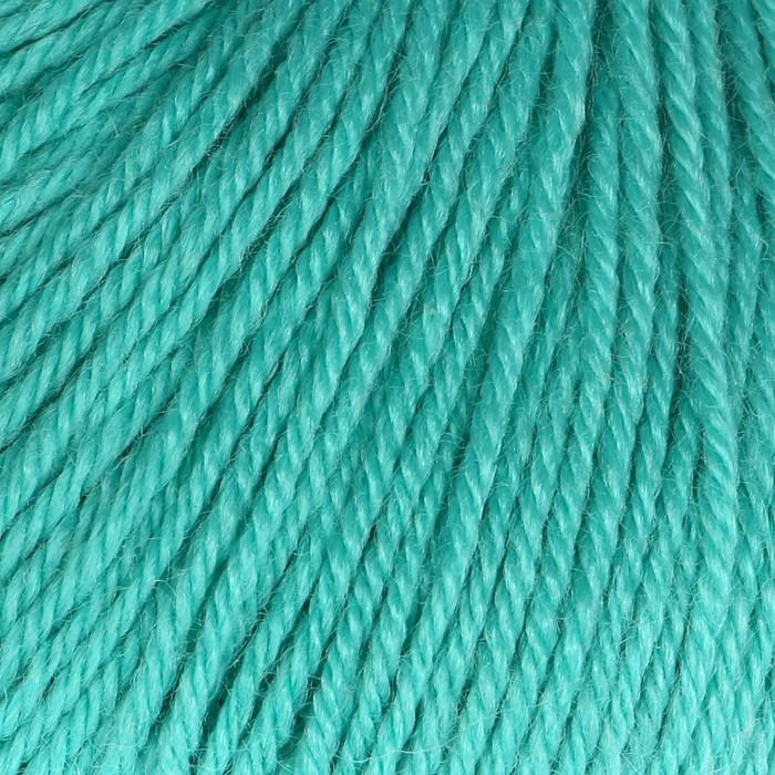 """Пряжа """"Baby Wool"""" 20% кашемир, 40% меринос. шерсть, 40% акрил 175м/50гр (832 св. бирюзов.) - фото 8443201"""