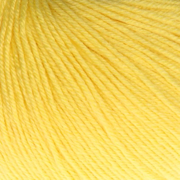 """Пряжа """"Baby Wool"""" 20% кашемир, 40% меринос. шерсть, 40% акрил 175м/50гр (833 жёлтый) - фото 8443204"""