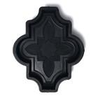 Форма для тротуарной плитки «Клевер», 26.7 х 21,8 х 4.5 см, узорный, Ф31016
