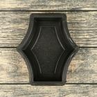 Форма для тротуарной плитки «Звезда малая», 15 х 17.5 х 4.5 см, Ф31011