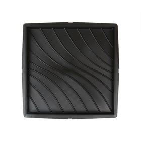 Форма для тротуарной плитки «Плита. Волна», 30 × 30 × 3 см, Ф12003, 1 шт