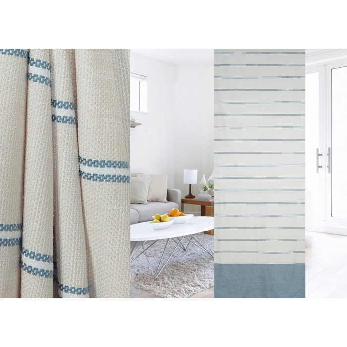 Ткань портьерная в рулоне, ширина 280 см, лён 95322