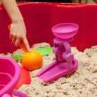 Песочный набор «Лодочка», 6 предметов, МИКС - фото 1062876