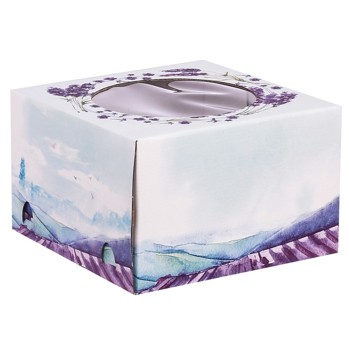 Коробка для торта «Твой день», 25 х 25 х 16 см