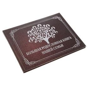 Фотоальбом на 48 страниц 'Большая родословная книга нашей семьи' 27х21 см Ош