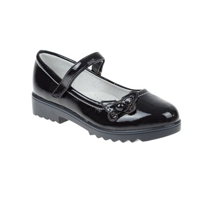 Туфли школьные для девочки SC-21459 (чёрный) (р. 33)