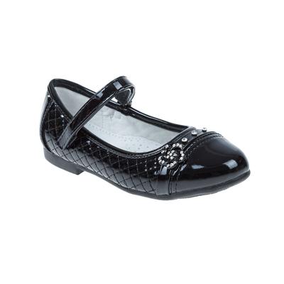 Туфли дошкольные SC-21031 (чёрный) (р. 25)
