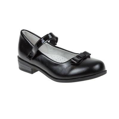 Туфли школьные SC-21067 (чёрный) (р. 28)