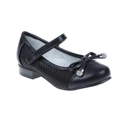 Туфли дошкольные SC-21038 (чёрный) (р. 31)