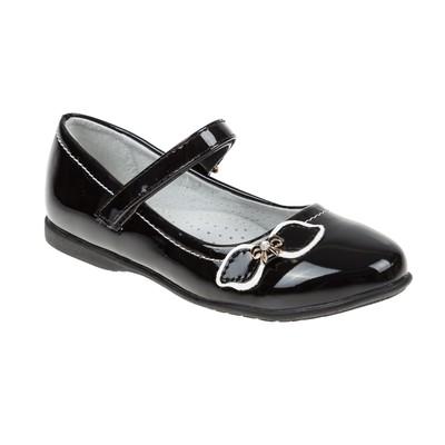 Туфли школьные для девочки SC-21443 (чёрный) (р. 37)