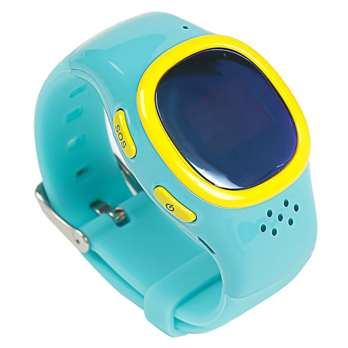 """Смарт-часы EnBe Children Watch 2, детские, дисплей 0.66"""", сине-жёлтые"""