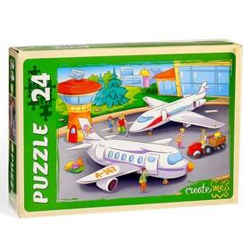 Airport Maxi Puzzle, 24 pieces.