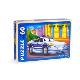 Пазл «Полицейская машина», 60 элементов