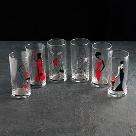 Набор стаканов 280 мл Red Line, 6 шт