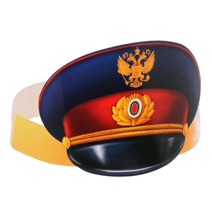 """Головной убор """"Полицейская фуражка"""""""