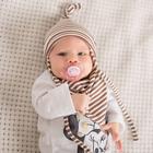 Комплект детский шапка/снуд, бежевый, (В18-35крп), р-р 40-44 см