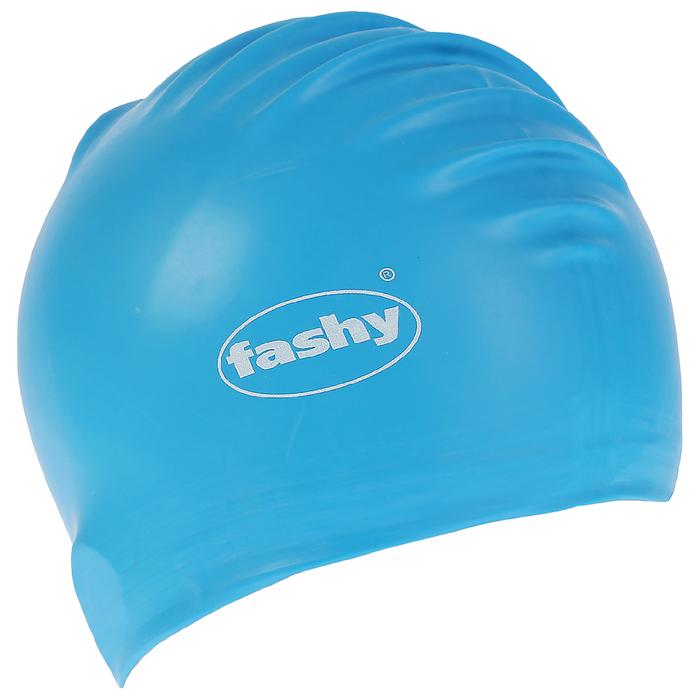 Шапочка для плавания FASHY Flexi-Latex Cap, арт.3030-00-75, латекс, цвет голубой