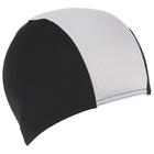 Шапочка для плавания FASHY Shot Shape Polyester, цвет чёрно-белый