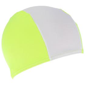Шапочка для плавания детская FASHY Polyester Cap, цвет бело-жёлтыйFashy Ош