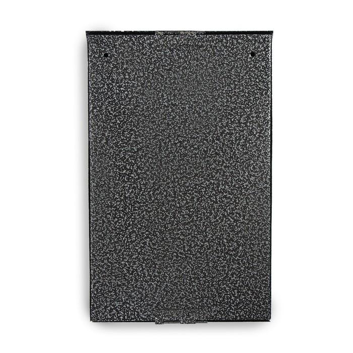 Ящик почтовый «Вертикаль», вертикальный, с замком, серебристый