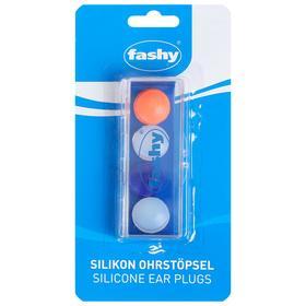 Беруши FASHY Silicon Ear Plugs, размер универсальный, 4шт. в комплекте